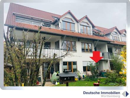 Vermietete 2 Zimmer EG Wohnung mit Garten und TG Stellplatz in Bonlanden