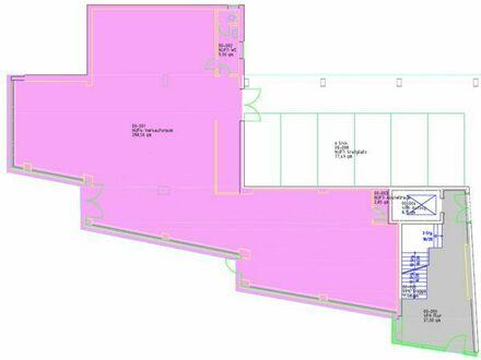26_VL3595 Sehr gut frequentierte und großzügige Laden- oder Bürofläche / Regensburg - östlicher Zentrumsrand