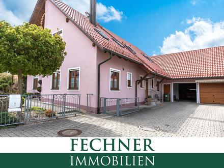 Sehr gepflegtes Zweifamilienhaus mit großem Grundstück & viel Platz für Familie, Autos & Handwerk!