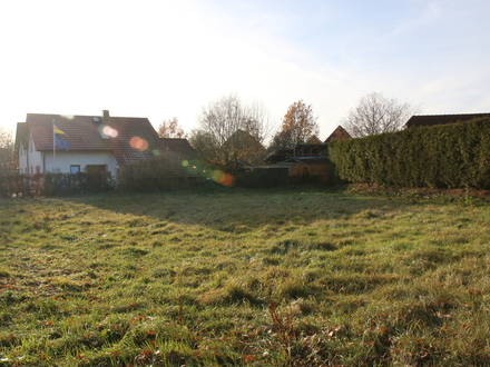 Beverstedt: Beliebte Lage, zentrumsnah, voll erschlossenes Grundstück 971m2 f. EFH / DH,, Obj. 4539