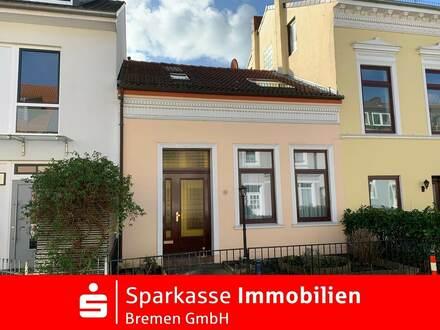 Klein aber Oho! Schmuckes Reihenmittelhaus in Bestlage von Bremen-Schwachhausen