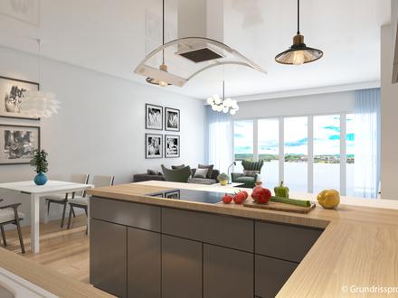 *** NEU - Hochwertiges und schlüsselfertiges Neubau-PENTHAUS mit Dachterrasse, Fahrstuhl + TG ***