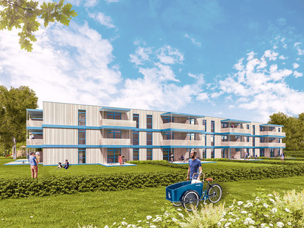 HYGGE: Wohnung mit Balkon & Ausblick nach Süden