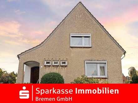 Freistehendes Einfamilienhaus mit enormen Ausbaupotenzial in guter Lage von Bremen-Burgdamm