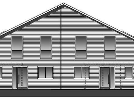 Neubau von 2 Doppelhaushälften in Nordenham
