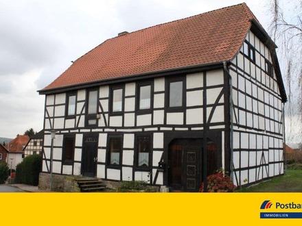 Facettenreiches Fachwerkhaus in Rodenberg mit idyllischem Ausblick zum Deister!