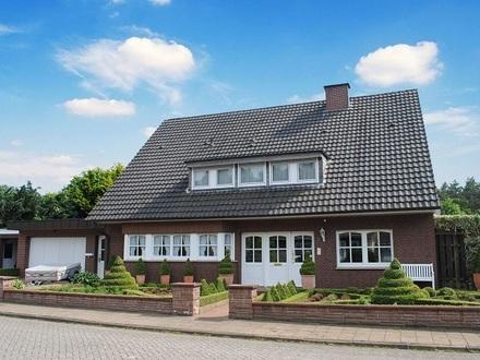Platz ohne Ende! Großzügiges Einfamilienhaus mit Anbau in ruhiger Lage von Lingen!