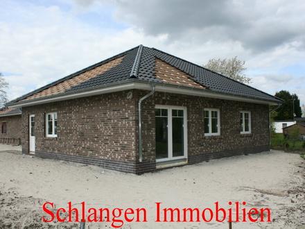 Objekt Nr.: 00/608 Walmdachbungalow ( Neubau ) mit Carport im Seemannsort Barßel / OT Barßelermoor