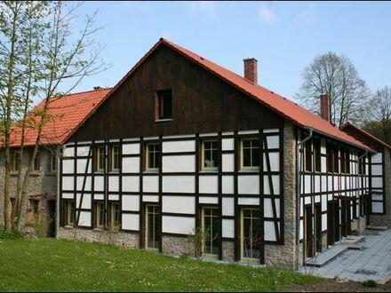 Ein Wohntraum im Grünen! Exklusive 3-4 ZKB-Wohnung mit Terrasse in idyllischer Lage in Bielefeld-Sieker Schweiz!