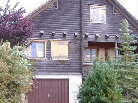 Südtiroler Blockbohlenhaus