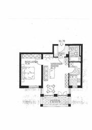 2 ZKB ca. 50 m² 08/19 510,- 120,- TG, Blk. Bj. 1992, bezugsfertig, Verbrauchsausweis,...