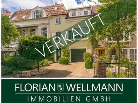 Bremen - Schwachhausen | Wunderschönes Reihenmittelhaus mit außergewöhnlichem Wohnambiente in Toplage