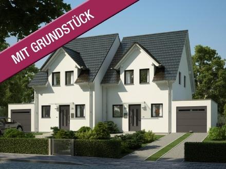 Massive Doppelhaushälfte von Kern-Haus in Bad Wurzach (inkl. Grundstück & Nebenkosten & KfW 55)
