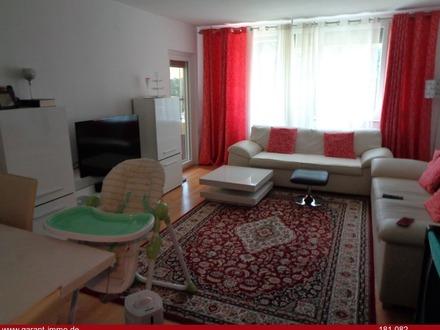 Gepflegte 3 Zimmer-Hochparterre-Wohnung mit Balkon in guter Lage von Freiburg