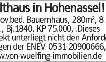 Haus in Wolfenbüttel (38300)