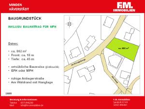 Baulücke in Häverstädt mit Bauantrag MFH