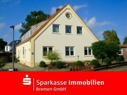 Interessantes Mehrfamilienhaus mit 3 geräumigen Wohnungen und großem Grundstück in Alt-Arsten