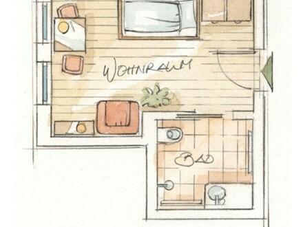 Appartement in der Pflege-Wohngemeinschaft für Senioren i.d.R. ab Pflegegrad 3