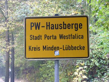 Zentrumsnah u. im Grünen - Baugrundstück in Hausberge