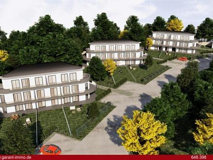 Helle und moderne penthouseähnliche Wohnung in einem Neubauobjekt in Schrobenhausen