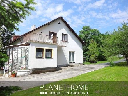 Ein/Zweifamilienhaus in Waldlage, Quellenwasser, ideal für Selbstversorger!