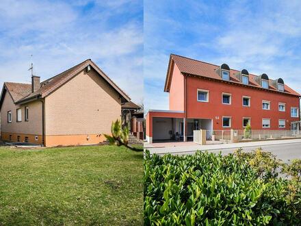 Kapitalanlage + eigenes Haus! Bungalow und 4-Familienhaus auf einem Grundstück