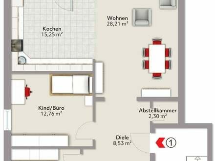 Wohnung in Wallersdorf