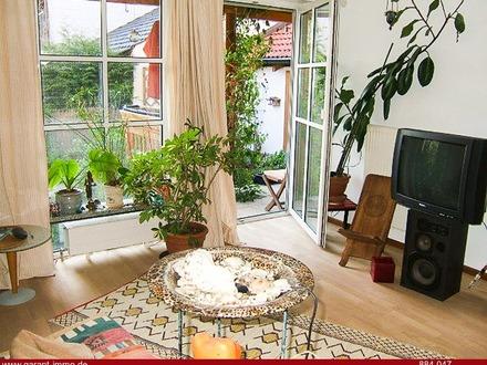 ***Souterrainwohnung in ruhiger Wohnlage mit zwei Terrassen, Garten, Garage und Kfz-Stellplatz***