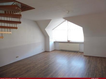 2 Zimmer-Dachgeschoss-Maisonette-Wohnung mit Tiefgaragenstellplatz