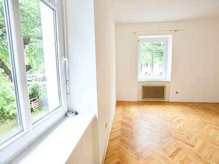 Klagenfurt - Regierungsviertel - Kumpfgasse: 80 m² Altbauwohnung mit Eigengarten