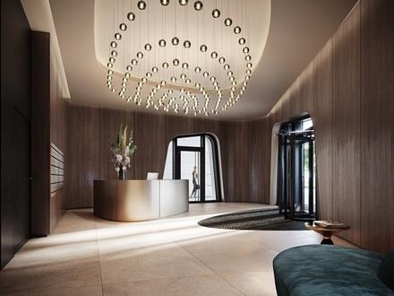 HPQ HIGH SIDE // Luxuriöse 2-Zimmer-Wohnung mit Loggia und Mainblick