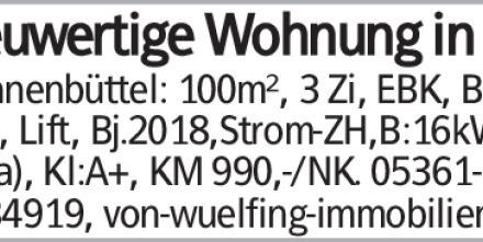 Mietwohnung in Braunschweig (38524)