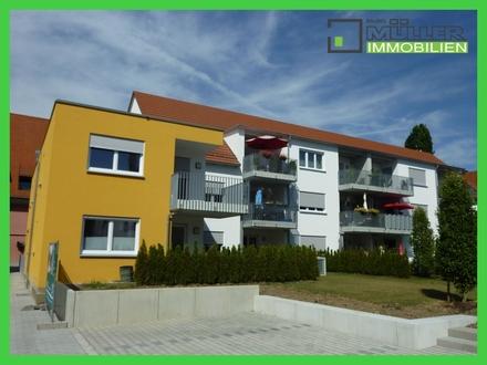 # Lichtdurchflutete 2-oder 3-Zi.-Neubauwohnung in zentraler Lage von Lauingen #