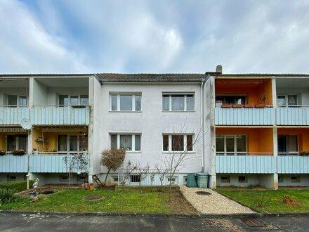 Naturfreunde aufgepasst! 3-Raum-Wohnung mit Balkon am Ortsrand von Kleinjena!