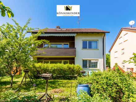 In bevorzugter Lage von Gerlingen: Dreifamilienhaus mit großem Garten + Garage
