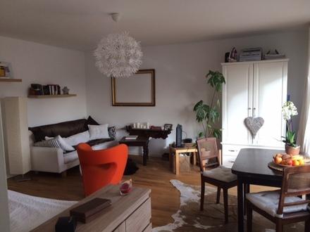 Gemütliche 1-Zimmer-Wohnung (44 qm) mit Balkon möbliert auf Zeit zu vermieten