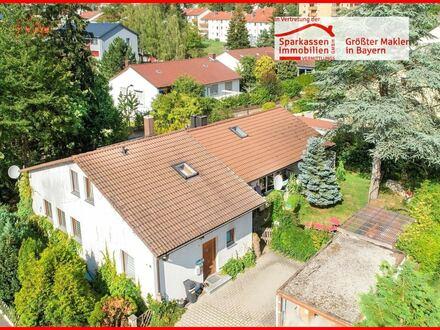 Seltene Gelegenheit - Zweifamilienhaus in Zentrumslage von Amberg/nähe Mariahilfberg