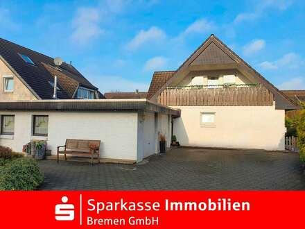 Reserviert: Charmantes freistehendes Zweifamilienhaus in begehrter Wohnlage von Stuhr-Varrel
