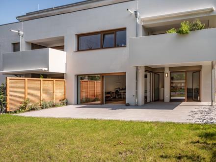 3-Zi.-Wohnung mit Süd-West-Terrasse und Gartenanteil, in ruhiger Lage in Piflas, Wohnkonzept 50+