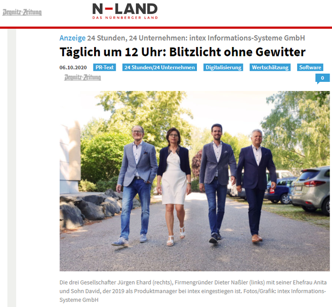 intex in der Presse