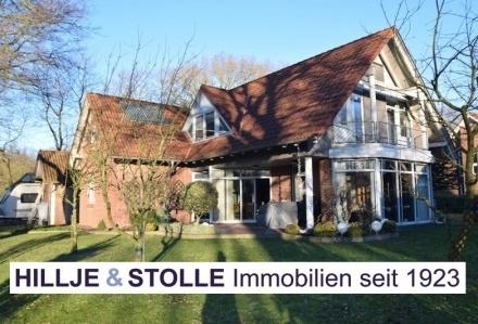 Stilvolles Architektenhaus mit herrlicher Aussicht auf Feuchtbiotop in Oldenburg - Etzhorn!