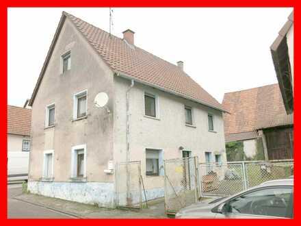 Sanierungsbedüftiges Einfamilienhaus in Klingenmünster