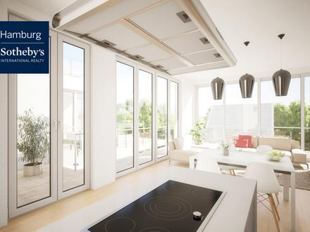Wohntraum mit über 248 m² Wohnfläche - 5,5 Zimmer Penthouse über 2 Etagen - Neubau