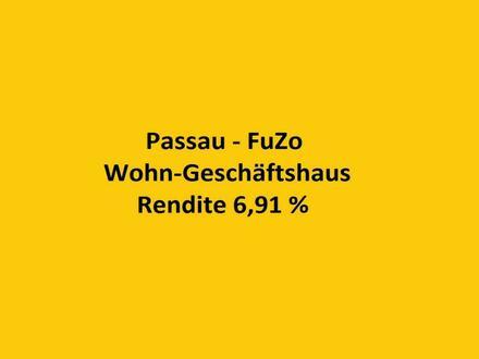 PASSAU-FUßGÄNGERZONE, WOHN-GESCHÄFTSHAUS RENDITE CA. 6,91 %