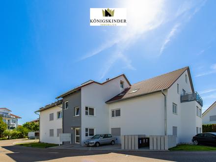 Exklusive 5-Zi.-Maisonettewohnung inkl. moderner, offener Küche, 2 Balkone, TG-Platz - tolle Lage