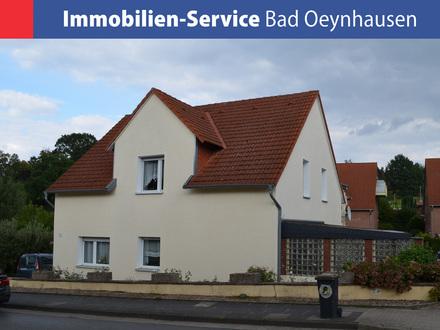 Gepflegtes 2-Familienhaus mit Carport in Porta Westfalica / Hausberge