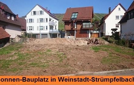 Bauplatz Strümpfelbach