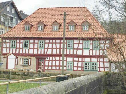 2017 renoviertes Fachwerkhaus** Idyllisch**4 Zi ca. 93 m²