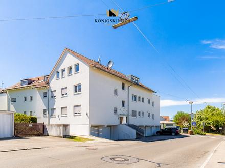 Sofort verfügbare, leerstehende 4-Zimmer Wohnung mit Balkon und Garage in LE-Stetten