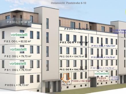 1 Raum - Erdgeschosswohnung mit Terrasse - Erstbezug nach Komplettumbau
